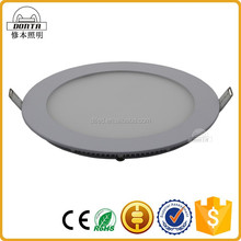 Hot sale standard sizes hanging rgb surface round led panel light 12w