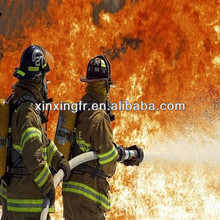 EN14116 UL certificate CVC 88/12 Waterproof/Fire Resistant Fabric for Fire fighter fabric /milirary fabric