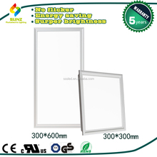 300x600 ceiling dimmable led panel light parts surface recessed 21w rgb led panel light-S7