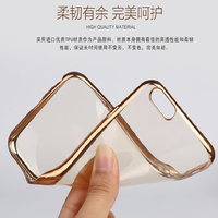 Ultra-thin Clear Tpu Custom Design Mobile Phone Case For Iphone