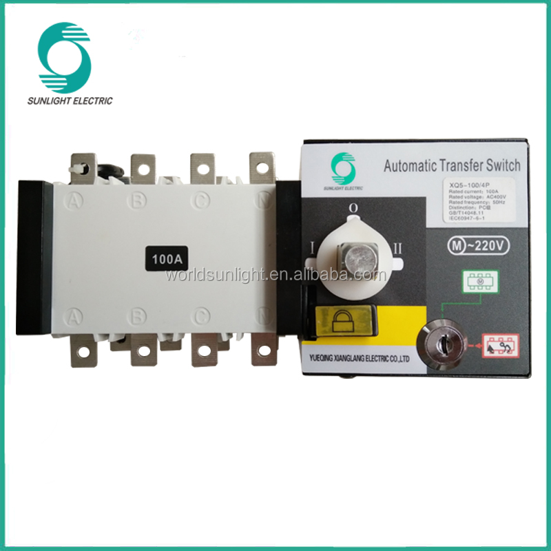 automatic changeover switch(ats controller)16A~3200A 3P,4P Automatic Transfer Switch generator