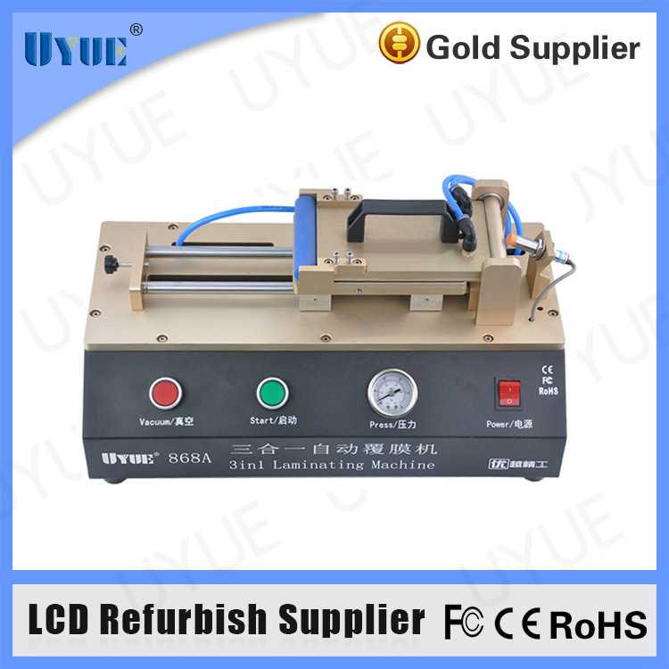 Factory Supply 3 in 1 Built-in Vacuum Pump OCA Film Laminating Machine for Mobile Phone