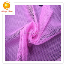 100% polyester soft hexagonal tricot mesh fabric for clothing