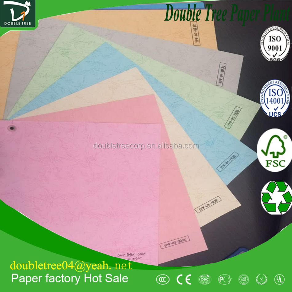 embossed texture professional color paper/color bristol board