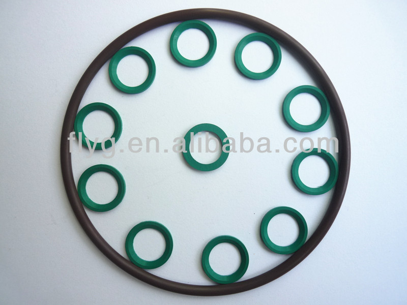 Mechanical Seal Rubber Ring,Green ED Ring with Viton Material