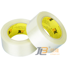MONO-DIRECTIONAL FILAMENT TAPE JLT-601 mainly used for holding boxes together on pallets,salvaging torn and damaged boxes