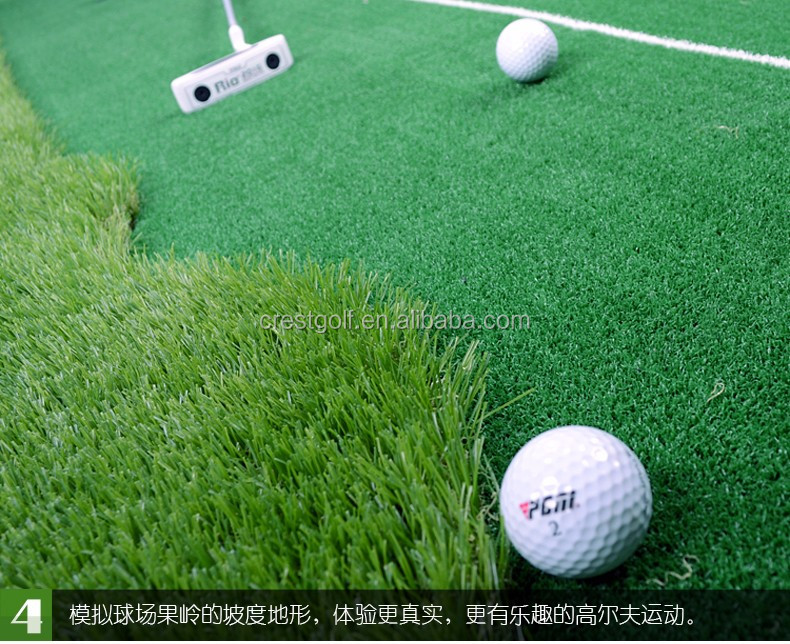 PGM Indoor Golf Putting Green Mini Golf Course Putter Green Artificial Grass