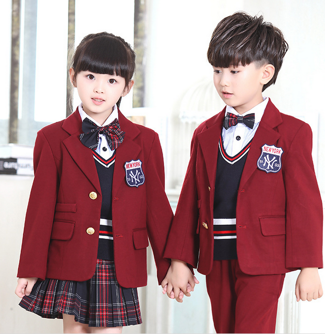 Factory School Uniform Blazer For Primary School Uniform Designs