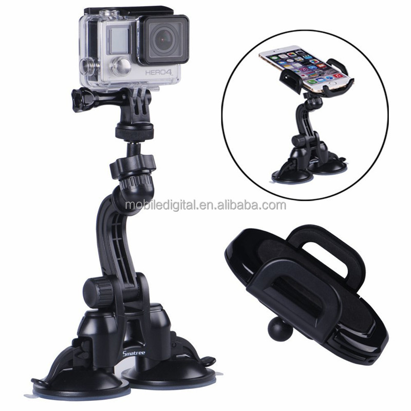 hot selling double sided suction cup for Gopros Hero4, Hero3+, Hero3, Hero2, Hero1 HD Cameras