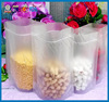 Crystal Clear Ziplock Small Plastic organic Food Packaging bags
