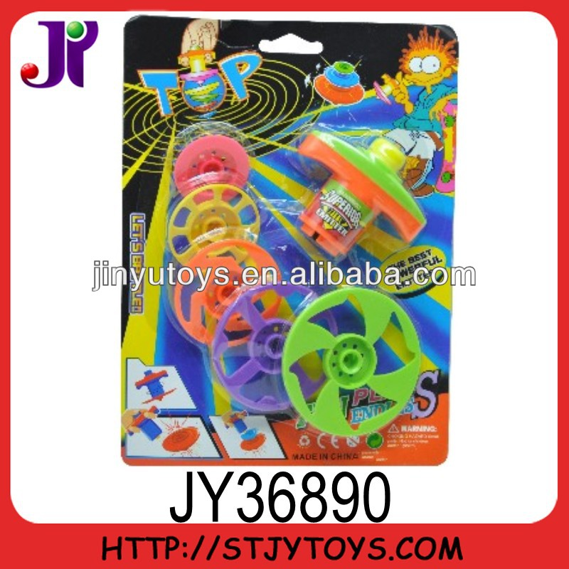 Super plastic spinning top toy for kids