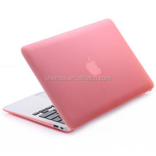 2015 Hot Selling Frosted Matte Rubberized Case SmartShell Case for Macbook Pro 13''