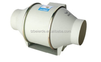 4 inch(100mm) Duct Booster Fan Exhaust Blower/Hydroponic Circular Inline Duct Fan /Hydroponics Fan 100mm-200mm