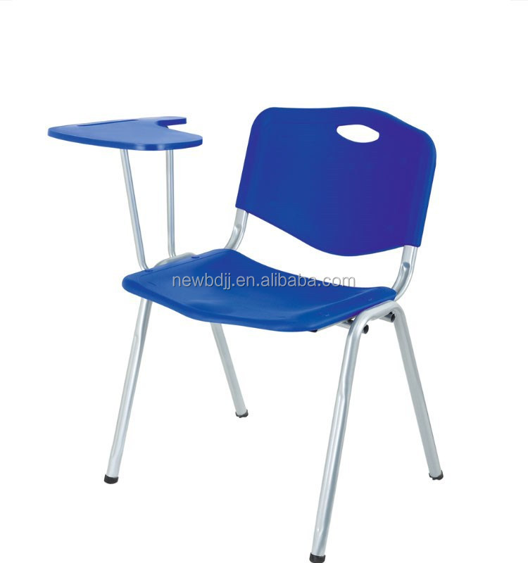 Wholesale Factory Cheap Price Plastic School Chair With Writing Tablet