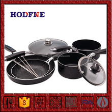Manufacturing Directly Sale Multifunction pink pots and pans