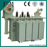 Low price Customer winding Coil Structure three phrase power transformer S9 series oil immersed 35KV 16000kva