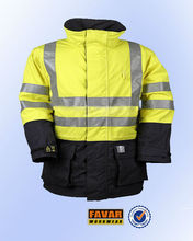 new style 3M fluorescent yellow work protective reflective jacket men