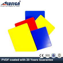 Alusign exterior aluminum composite acp 2013 new building construction materials