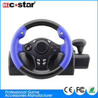 2018 New 7-in-1 sports usb game steering wheel for PS4/PS3/XBOX 360/XBOX ONE/ANDROID/SWT/PC