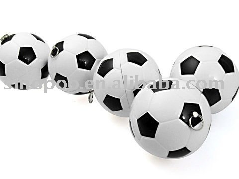 hot sale oem promotional football shape usb flash memory with super quality