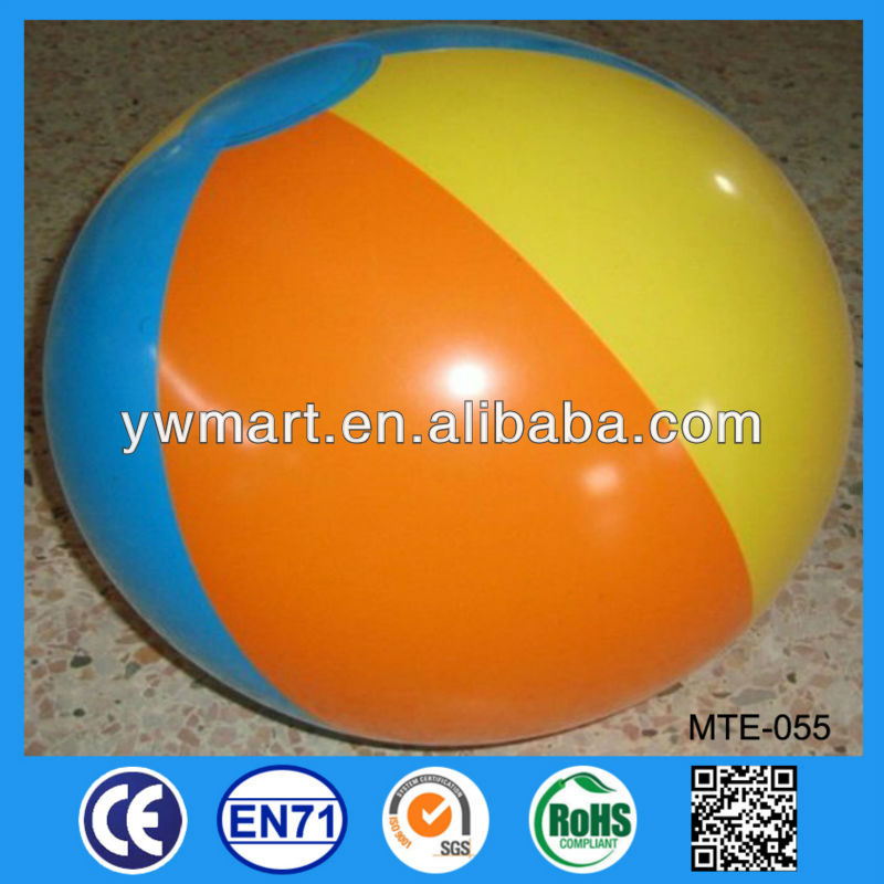 Small PVC inflatable ball, inflatable PVC beach ball