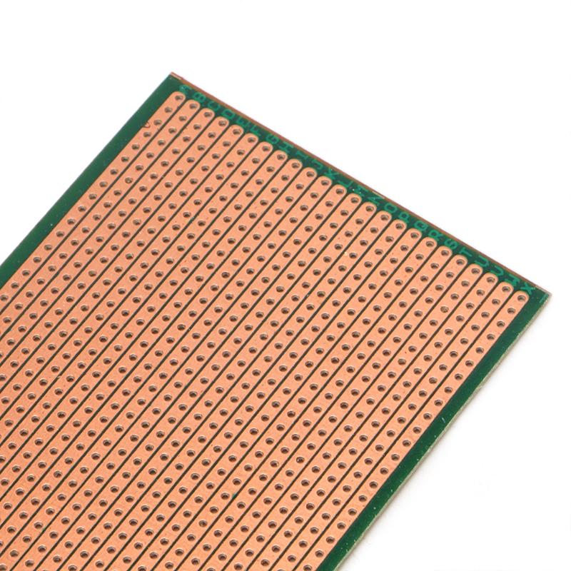 5pcs 6.5x14.5cm Stripboard Veroboard DIY Prototype PCB Board Single Side Durable