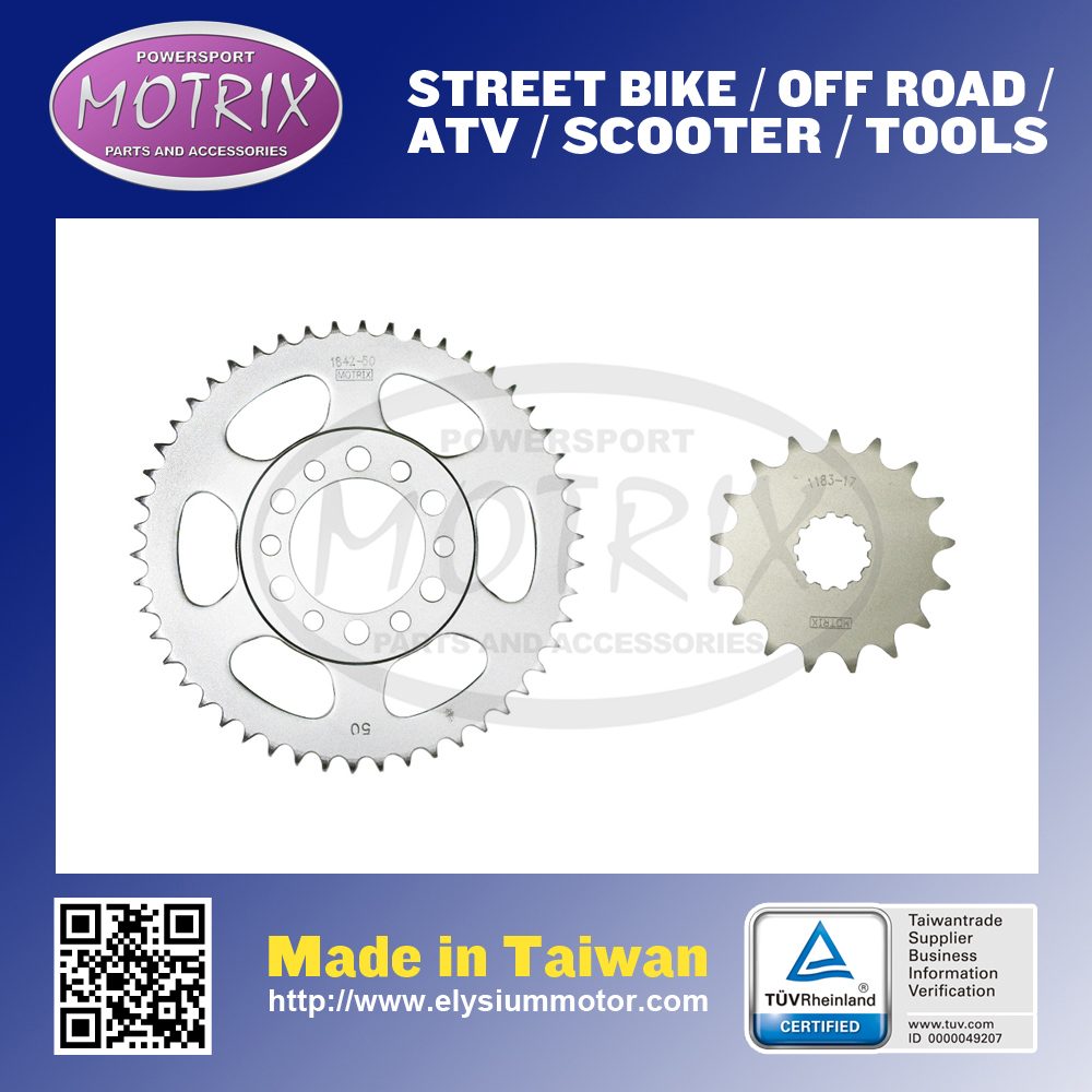 TAIWAN MOTORCYCLE REAR SPROCKET WITH 49T.