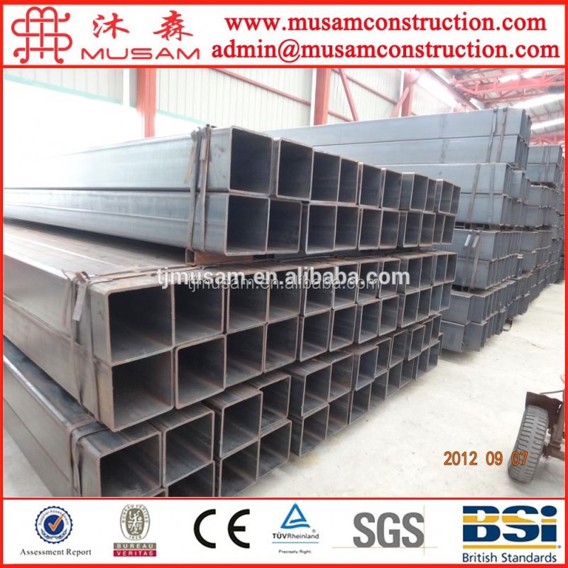 China steel company offer rectangular steel pipe for building material