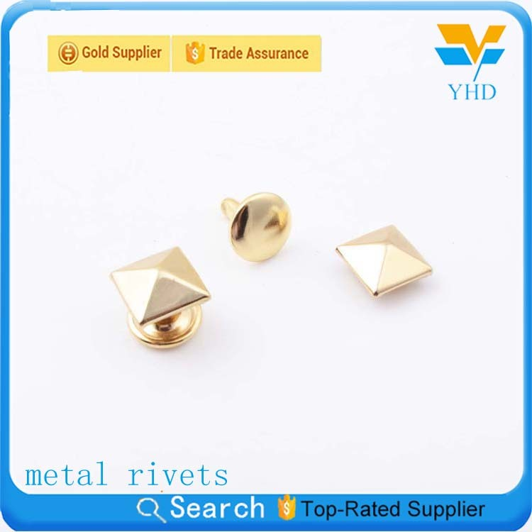 hot selling custom made metal decorative buttons rivet for jackets