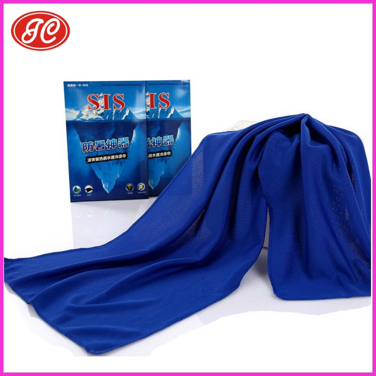Fabrics Textiles Dry Fit Cooling Sports Towel for Wholesale