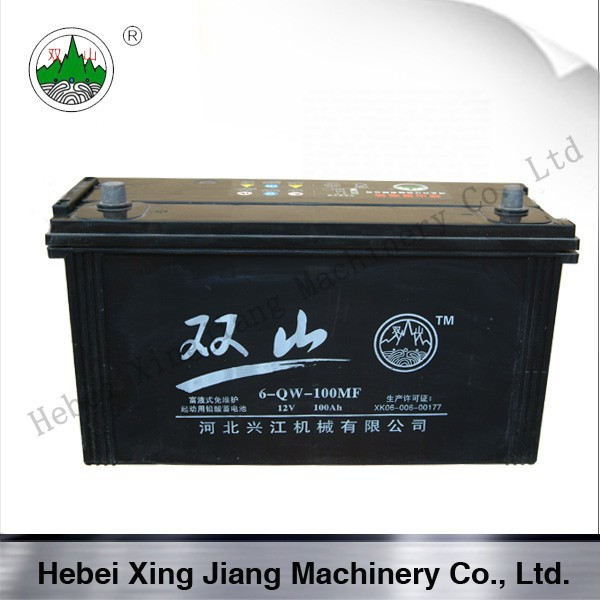 12V 100MF Dry Charged Car Battery
