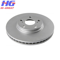 Auto part Brake Disc for Japanese Car Toyota Parts 43512-48010