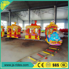 Amusement park kids train track elephant train for sale