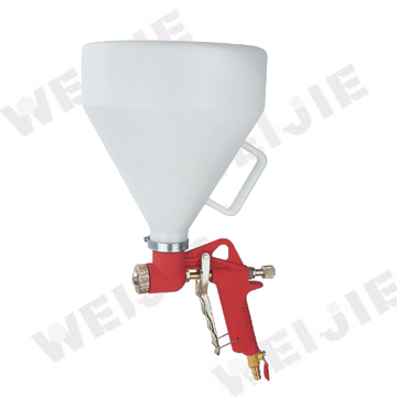 FR-301 PROFESSIONAL GRAVITY 6L AIR TEXTURE HOPPER PAINT SPRAY GUN