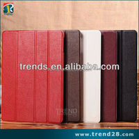wholesales pu folding flip leather wallet phone case for ipad air
