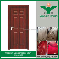 Interior Natural Wood Veneered Door Skin, Mdf Doors