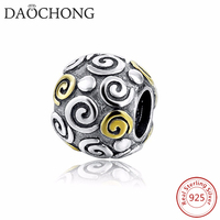 Hot Sale Fashion Tibetan Style 925 Sterling Silver Crown Beads
