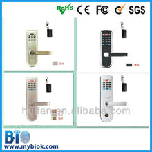 HF-LR06 Mobile Phone Remote Control Biometric Password Door Lock with Keypad