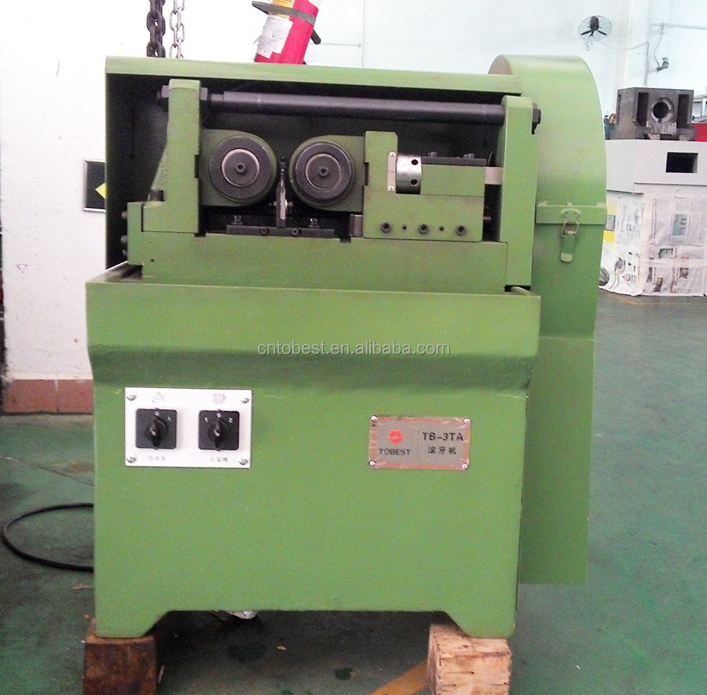 tobest rebar processing machinery thread rolling machine made in China