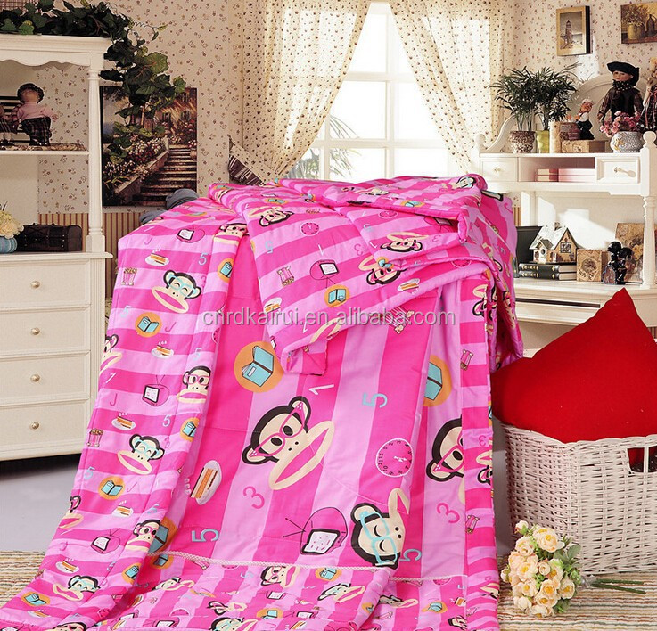 Wholesale cheap vintage kantha feather & down blankets quilts made in india home textile