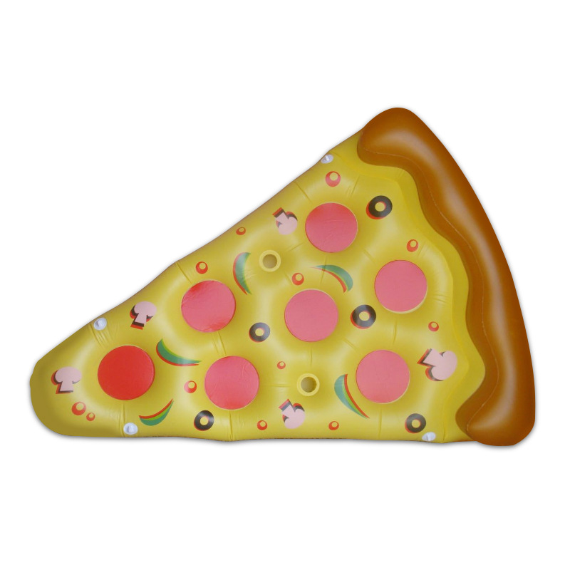 183x145cm Big Inflatable Pizza Pool Float for Swimming Fun