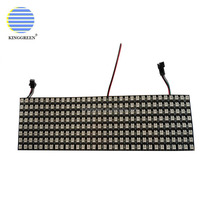 Addressable APA104 RGB full color led 8*32 dot 256leds/pcs surface led screen led panel led matrix