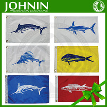 new products promotional fashional cheap Boat Fishing Nylon Flag