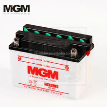 motorcycle battery YB6L-B