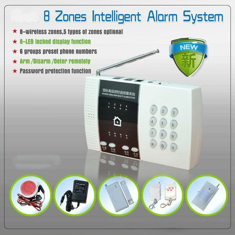 Wireless Intelligent Security and Protection Alarm ( ZAB-168)
