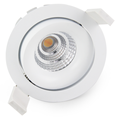 Lepu Sunset High 97Ra IP44 dimmable led cob downlight CCT Adjustable 2000-3000k