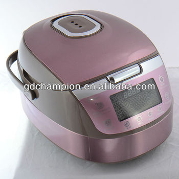 LCD display with inner pot handle deluxe multi electric pressure cooker