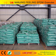 Virgin / Recycled /Colorful/ EPDM rubber granule / EPDM raw material/EPDM price FL-V-170801