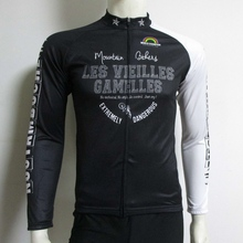 100% polyester long sleeve cycling sportswear