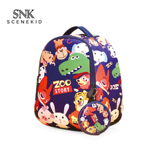 Kid Backpack Cute Zoo Animal Cartoon Bag School Children